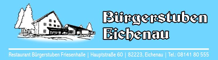 Bürgerstuben Eichenau | Friesenhalle Restaurant Logo